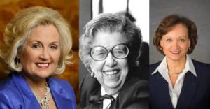 From left: Patricia Brantley Todd, the late Elizabeth Cromwell Kremer and Martha Allen Nall Image: Courtesy AFE