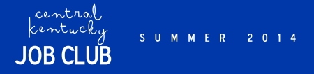 Job Club Press Release Summer 2014
